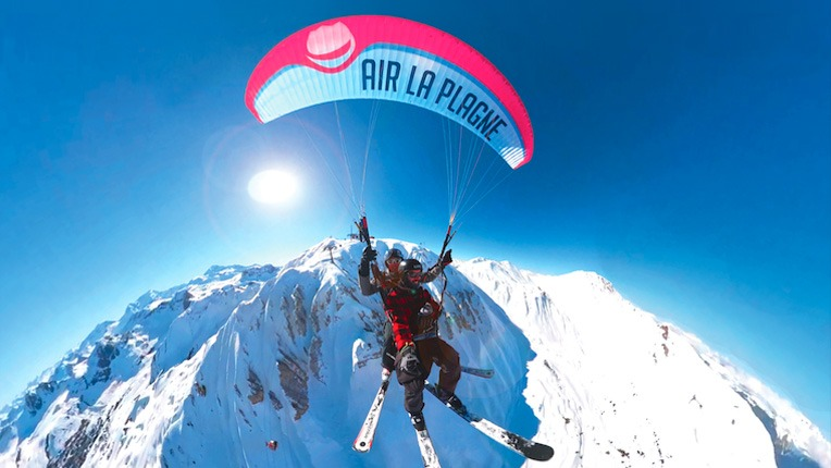 Vol en parapente Air La Plagne