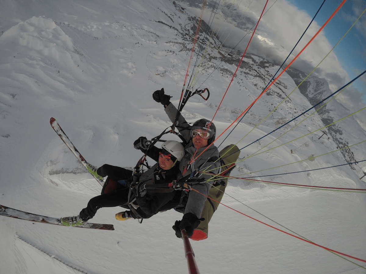 Vol parapente Julien Absalon